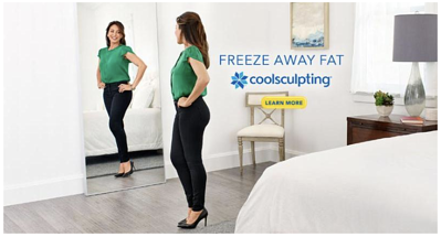Freeze Fat Away Mirror